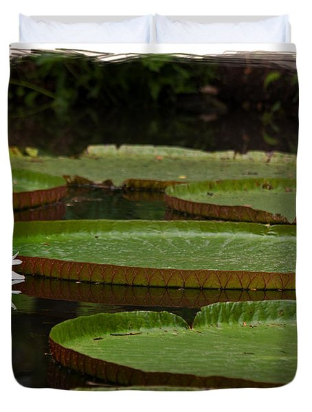 Amazon Lily Pad Duvet Cover