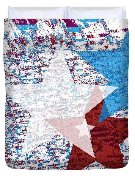 America Stars Duvet Cover