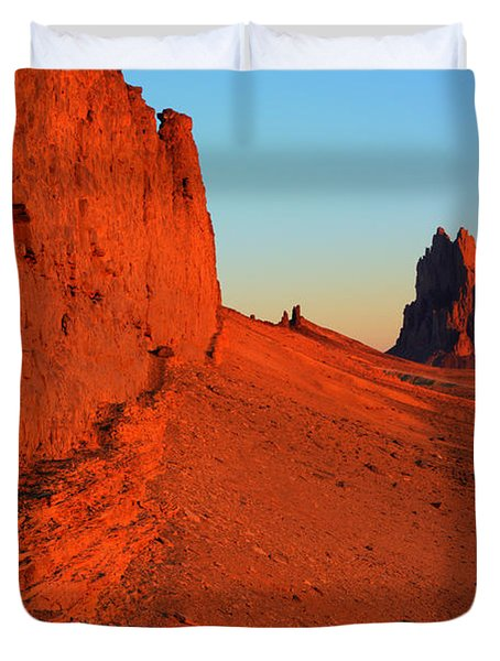 America The Beautiful New Mexico 1 Duvet Cover by Bob Christopher