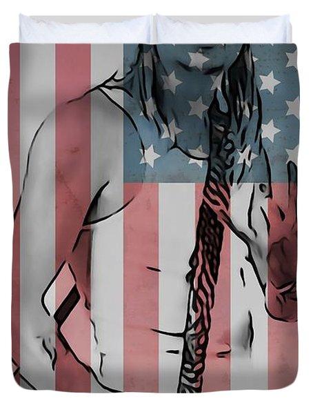 American Badass Duvet Cover