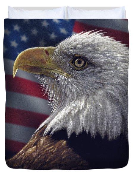 American Pride Eagle Duvet Cover