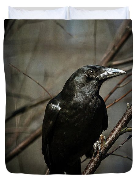 American Crow Duvet Cover