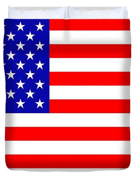 American Flag Duvet Cover by Tommytechno Sweden