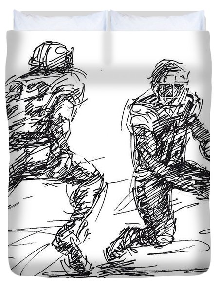 American Football 3 Duvet Cover