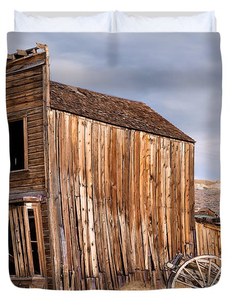 American Ghost Town Bodie Duvet Cover