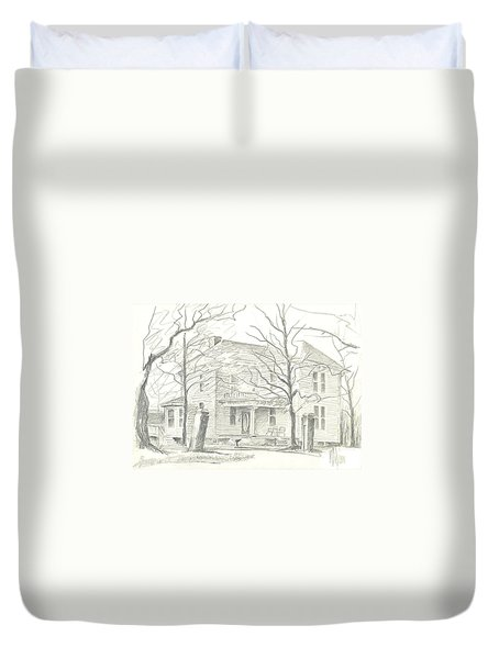American Home II Duvet Cover by Kip DeVore