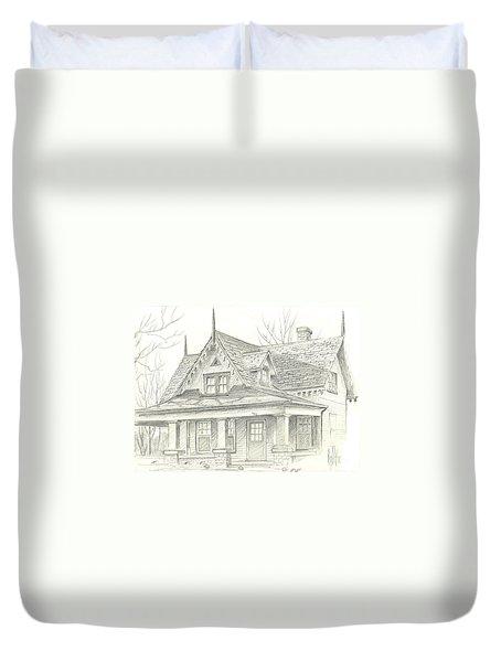 American Home Duvet Cover by Kip DeVore
