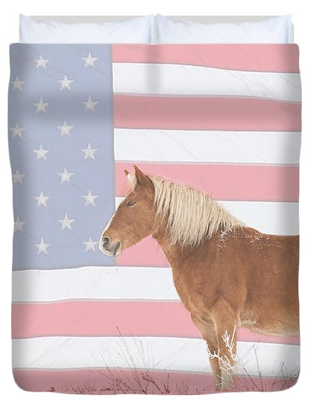 American Palomino Duvet Cover by James BO  Insogna