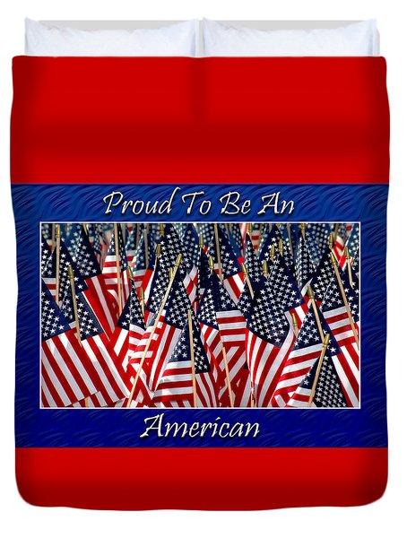 American Pride Duvet Cover by Carolyn Marshall