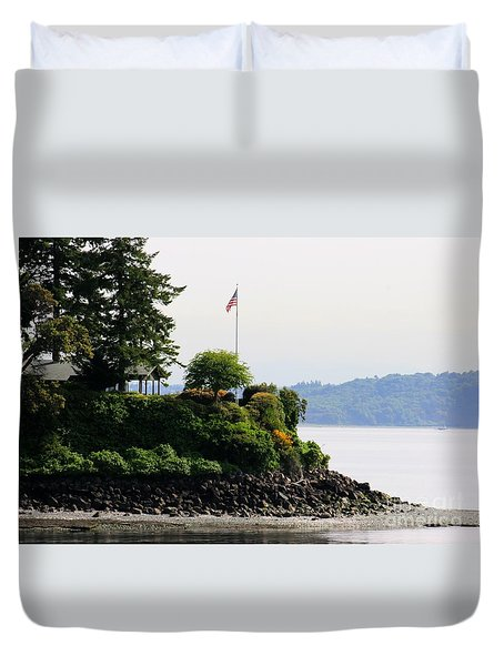 American Pride Duvet Cover by Tap On Photo