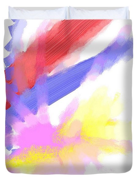 American Sunrise Duvet Cover