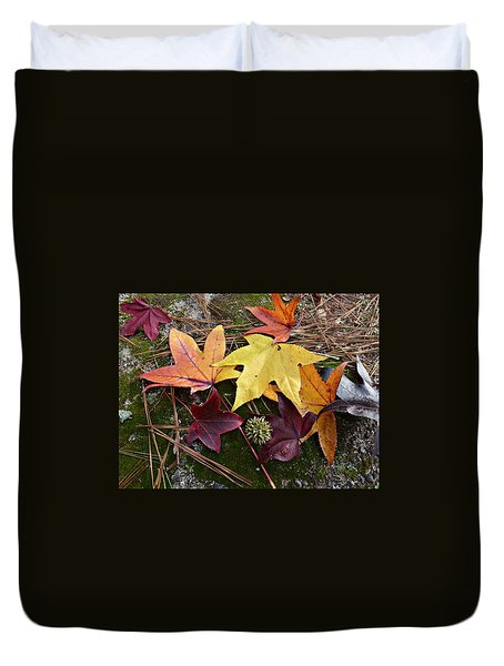 Autumn Duvet Cover by William Tanneberger