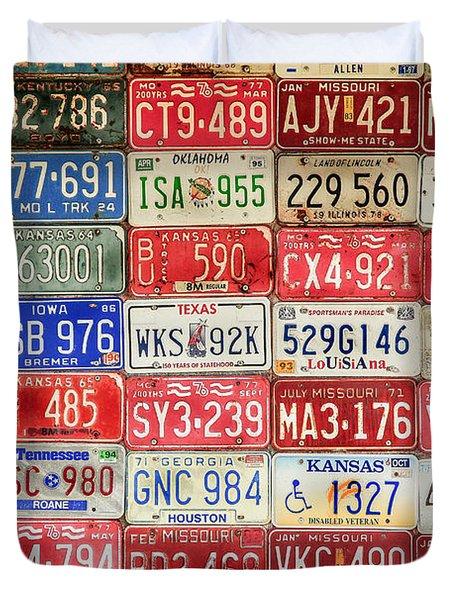 American Transportation Duvet Cover