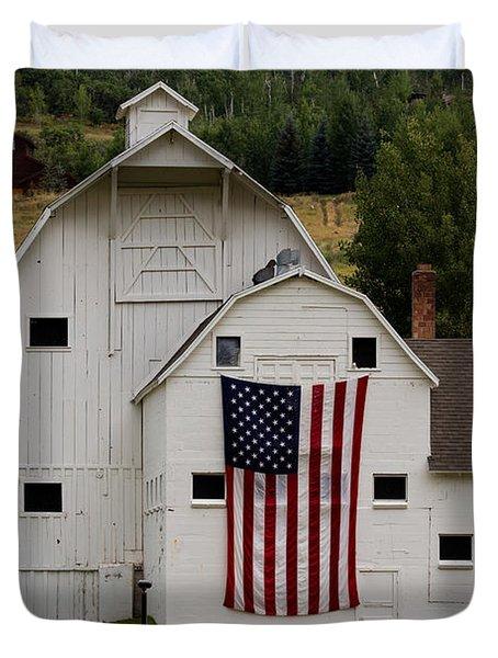 Americana Duvet Cover