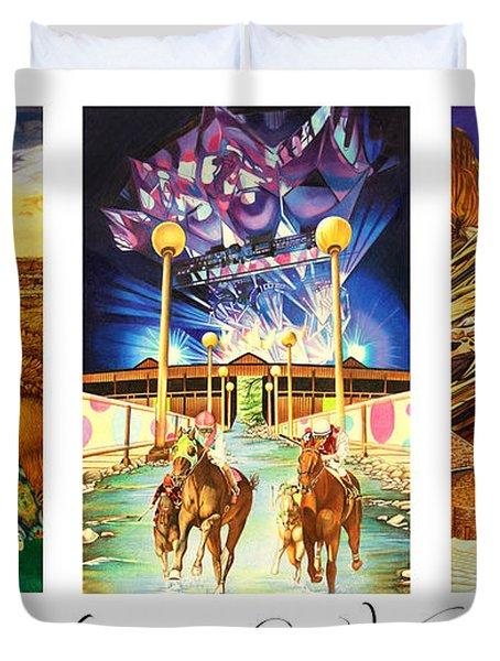 America's Great Venues Duvet Cover by Joshua Morton