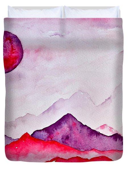 Amethyst Range Duvet Cover by Beverley Harper Tinsley