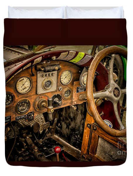 Duvet Cover featuring the photograph Amilcar Riley Special  by Adrian Evans