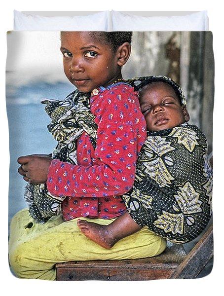 Amali And Mosi Duvet Cover