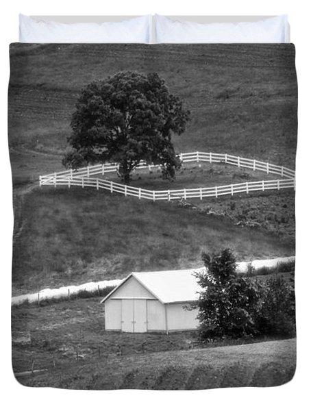 Amish Land Duvet Cover