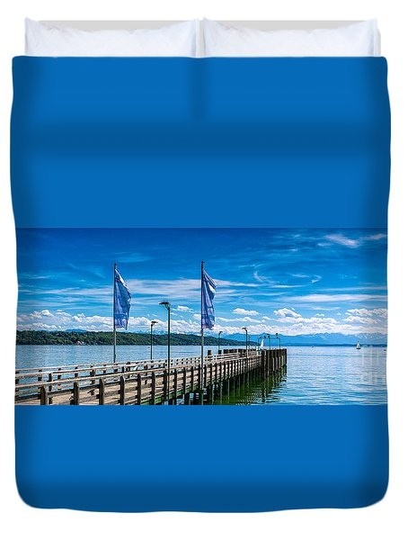 Ammersee - Lake In Bavaria Duvet Cover