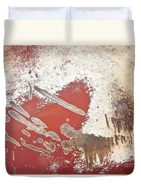 Amoeba  Amoebae Abstract Duvet Cover