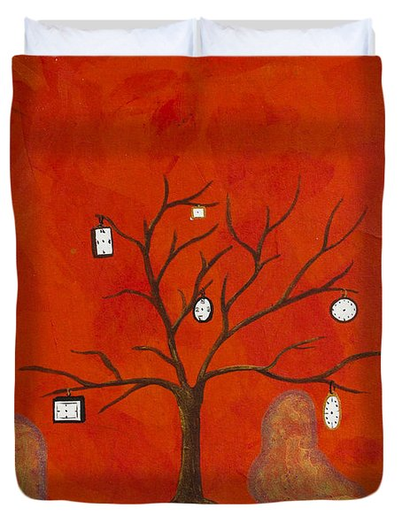 Amoeba Duvet Cover
