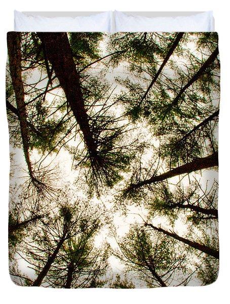 Among The Trees Duvet Cover
