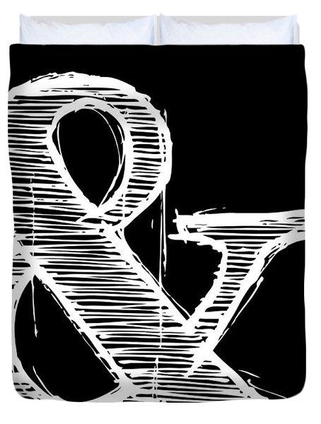 Ampersand Poster 2 Duvet Cover