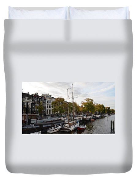 Amstel River Duvet Cover