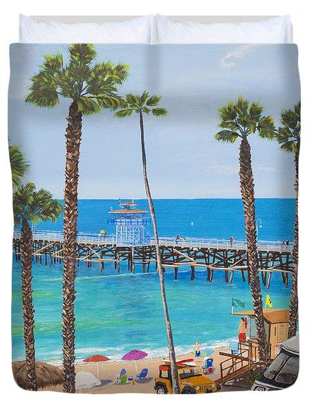 Perfect Beach Day Duvet Cover