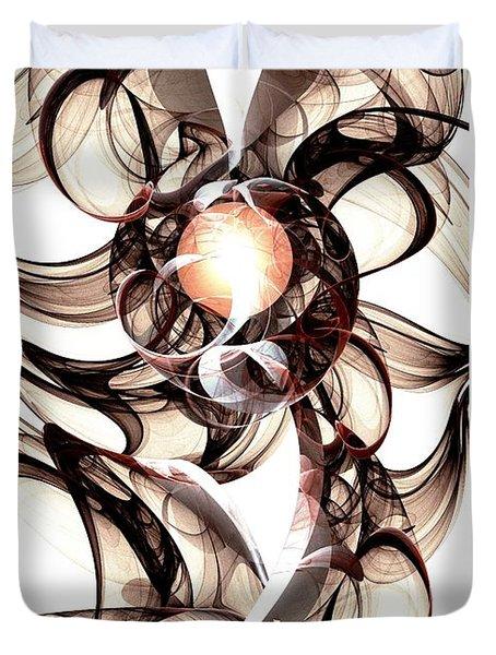 Amulet Of Chaos Duvet Cover by Anastasiya Malakhova