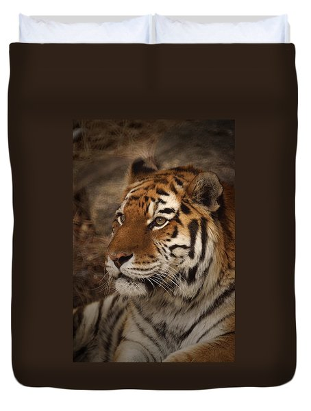 Amur Tiger 2 Duvet Cover