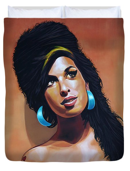 Amy Winehouse Duvet Cover