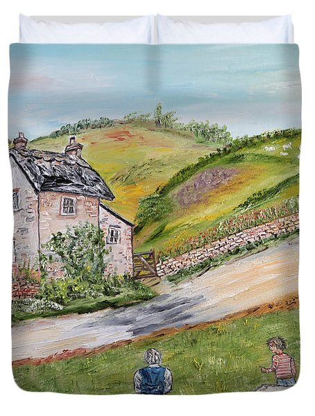 An Afternoon In June  Duvet Cover by Loredana Messina