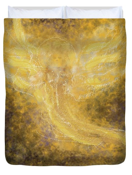 An Angel I Know Duvet Cover