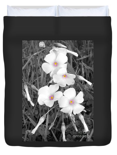 Duvet Cover featuring the photograph An Angels Work by Janice Westerberg