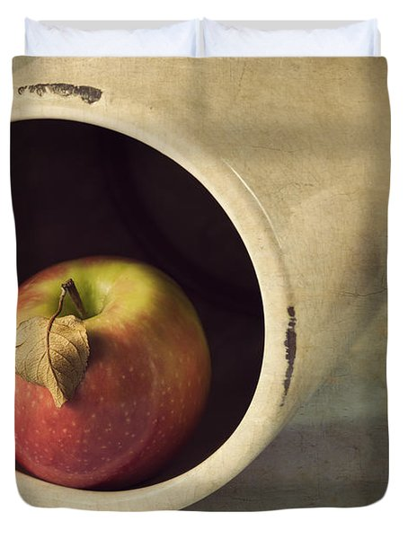 An Apple A Day... Duvet Cover