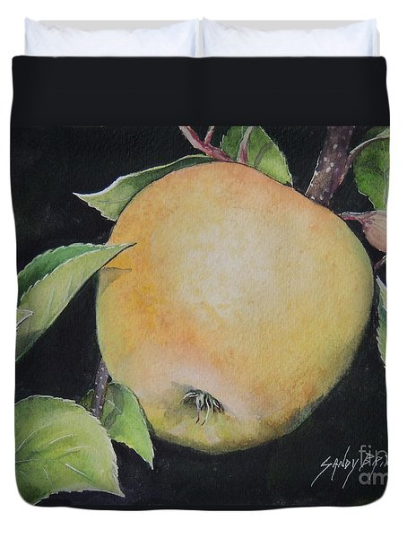 An Apple A Day...sold  Duvet Cover
