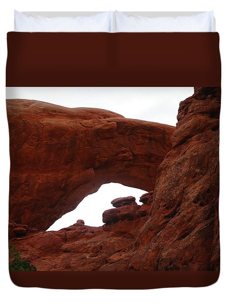 An  Arch  Duvet Cover by Jeff Swan