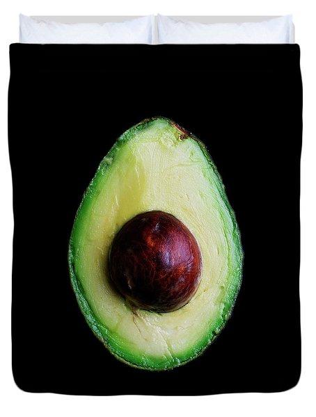 An Avocado Duvet Cover