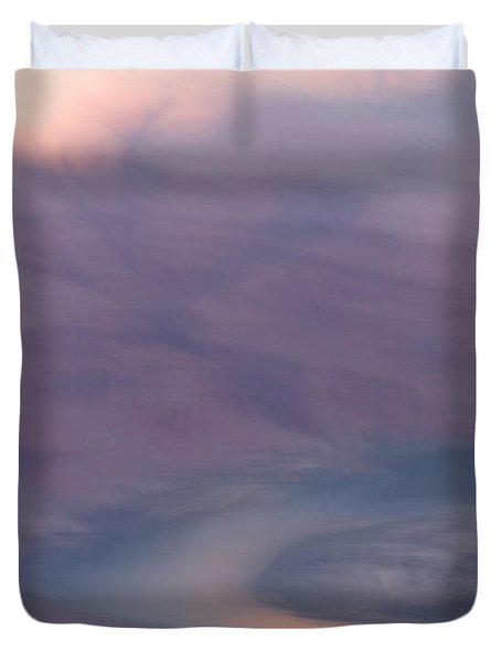 An Early Morning Scene In Grand Canyon Duvet Cover
