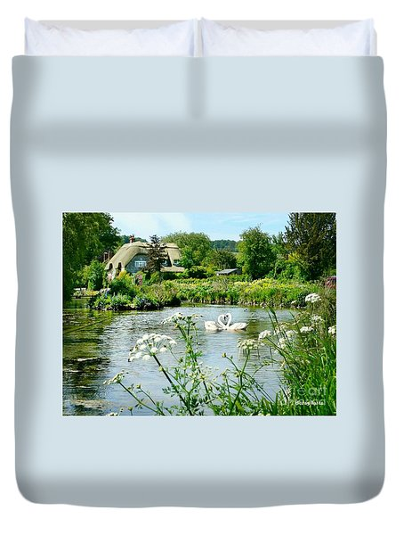 An English Cottage Duvet Cover
