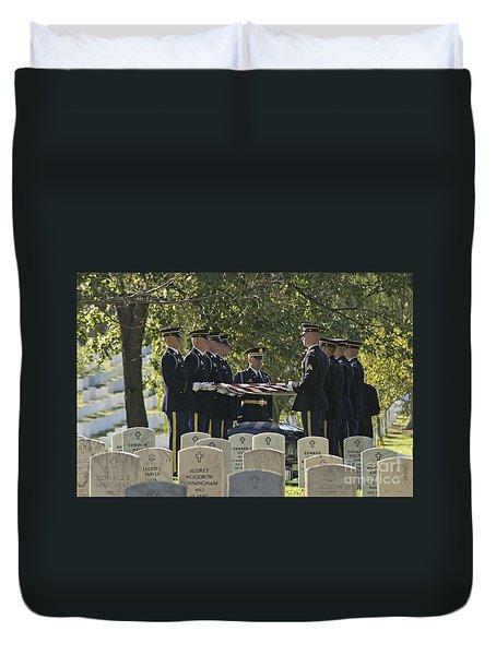 An Honored Dead Duvet Cover