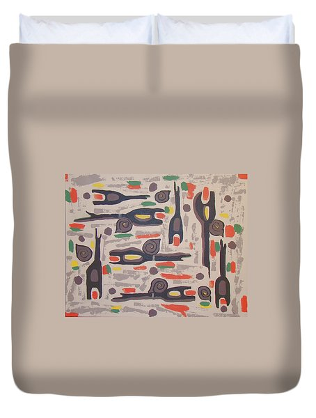 An Impression Of Nature Duvet Cover by Olivia  M Dickerson