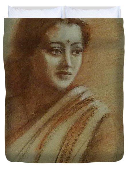 An Indian Actress Duvet Cover