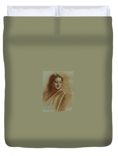 An Indian Actress Duvet Cover