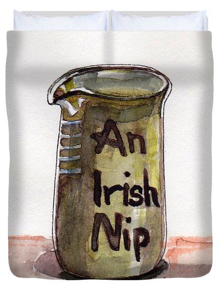 An Irish Nip Duvet Cover by Julie Maas