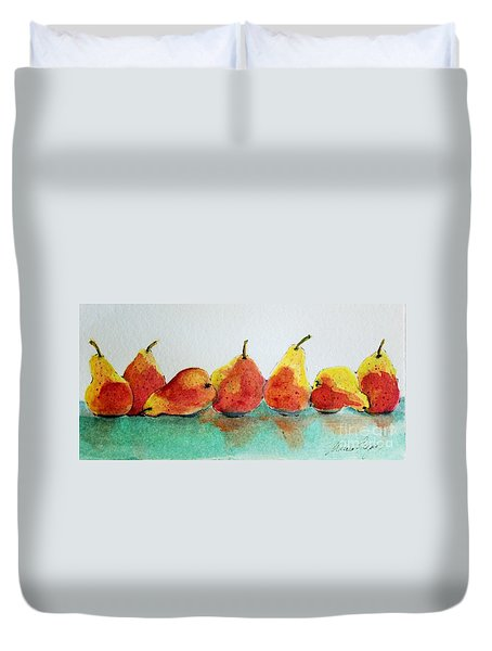 An Odd Pear Duvet Cover