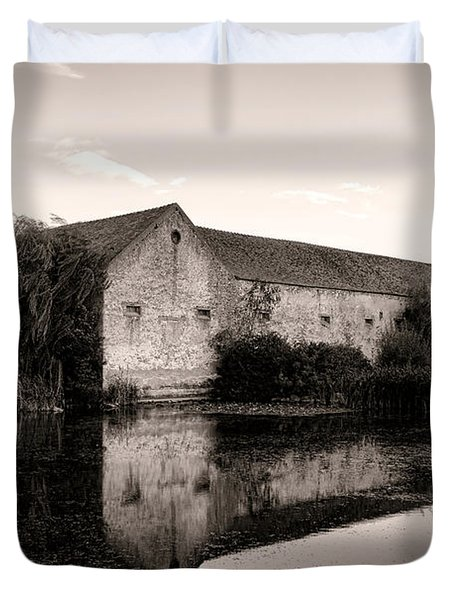 An Old Fortified Farm Duvet Cover