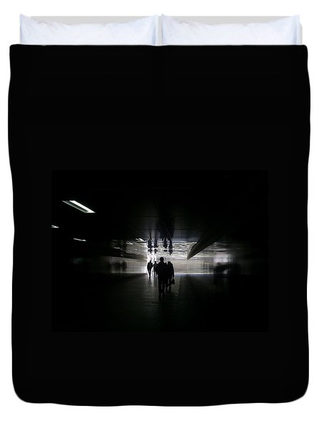 Underpass Duvet Cover by Anna Yurasovsky